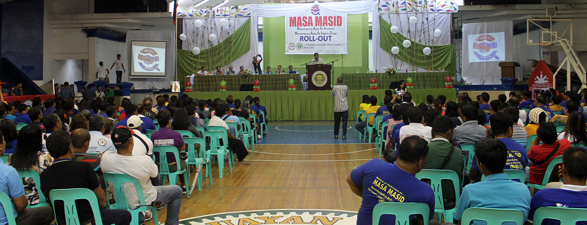 Masa Masid 2017 Volunteer Roll Out